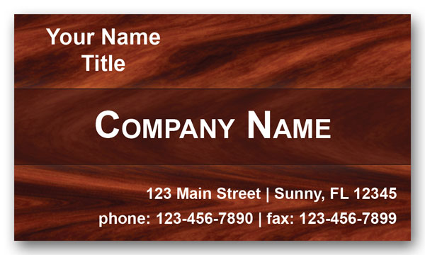 Flooring Company Business Cards