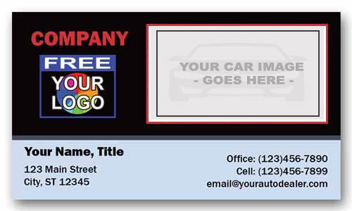 Business Card for AUDI with Logo