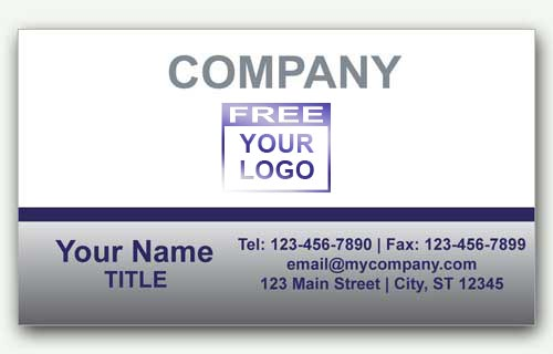 Business Card with Logo for Chrysler