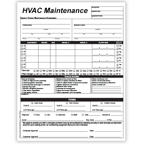 HVAC Maintenance Contracts