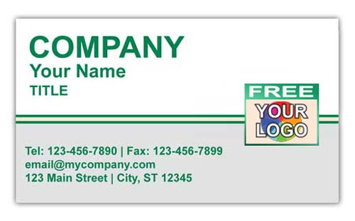 Land Rover Logo Business Card for Sales or Service Center