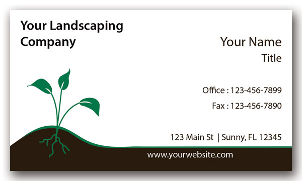 Landscaping Company Business Card