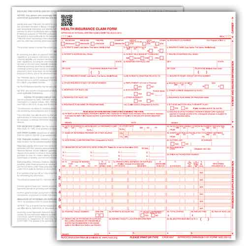 Medicaid Claim Form 2 Part