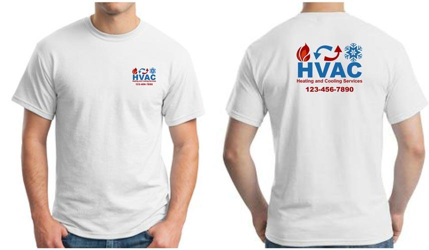 HVAC Company Shirts with Logo