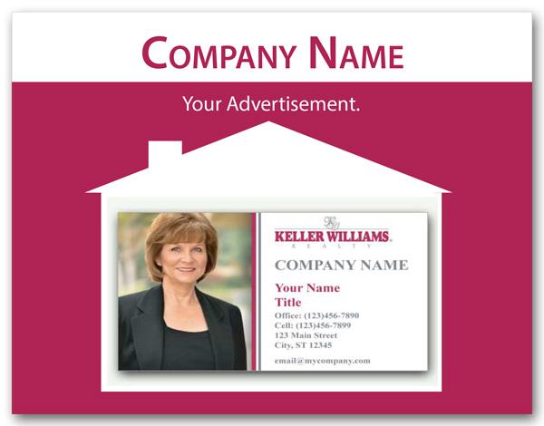 Realtor Business Card Window Label