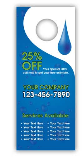 Water Services Door Hanger