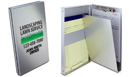Branded Aluminum Folders