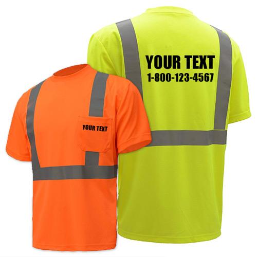 Hi-Vis Safety Shirts