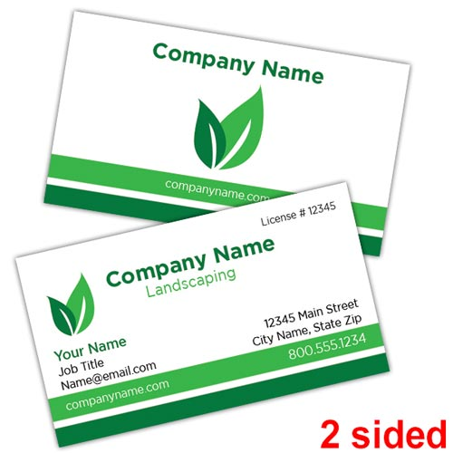 Green Leaf Landscape Business Card