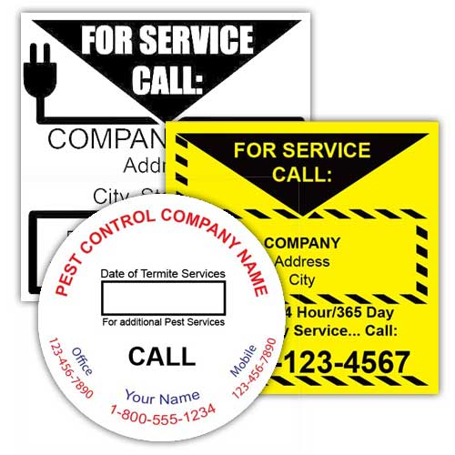 Service Labels by Industry