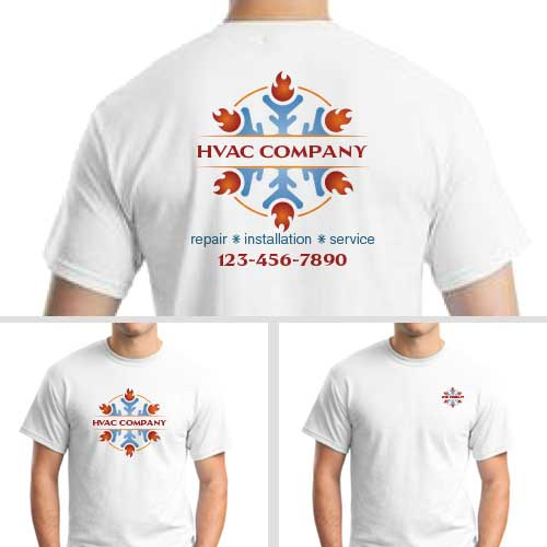 HVAC Snowflake Custom Shirt