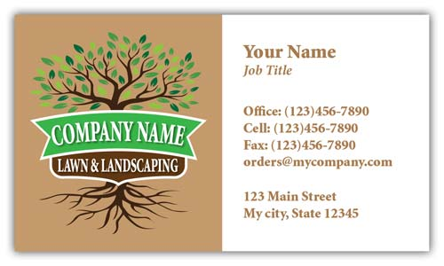 Tree Trimming Company Business Cards